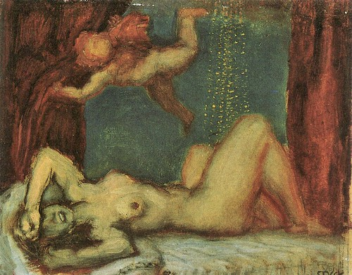 Danae by Franz von Stuck