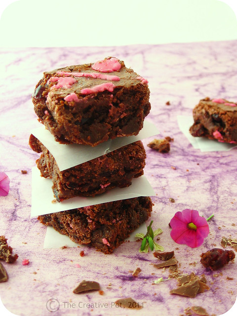 Cranberry Chocolate Brownies b2-w