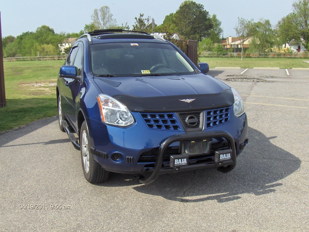 Bull Bars And Side Step Nerf Bars on Rogue - Nissan Forum ...