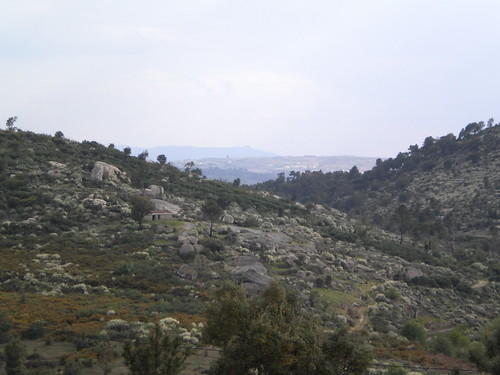 The Douro valley of granite in Linhares de Ansiães