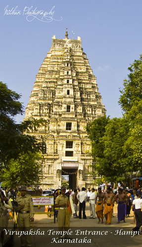 Virupaksha Temple by Mithun Kundu
