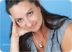 Christi (NJ Stevenson|ebbystouch.com) Tags: blue woman brown t3i lr3 alienbees 1755mm canon1755mm ab800 lightroom3