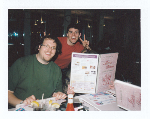 Dan and Mat at MACS Diner!
