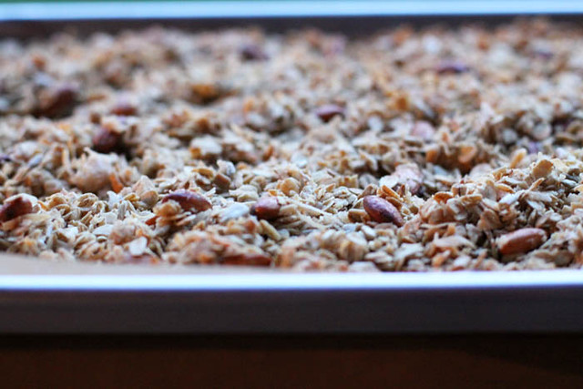 honey crunch granola.