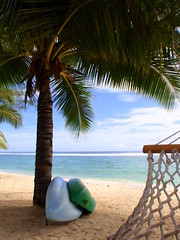 Crown Beach Resort Rarotonga - beach