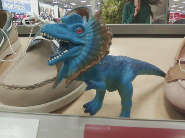 Dilophosaurus thingy
