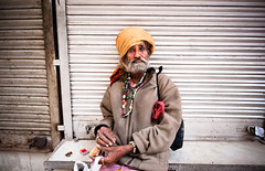 India: Stories and Portraits (navid j) Tags: poverty city portrait people india man asia delhi poor olddelhi