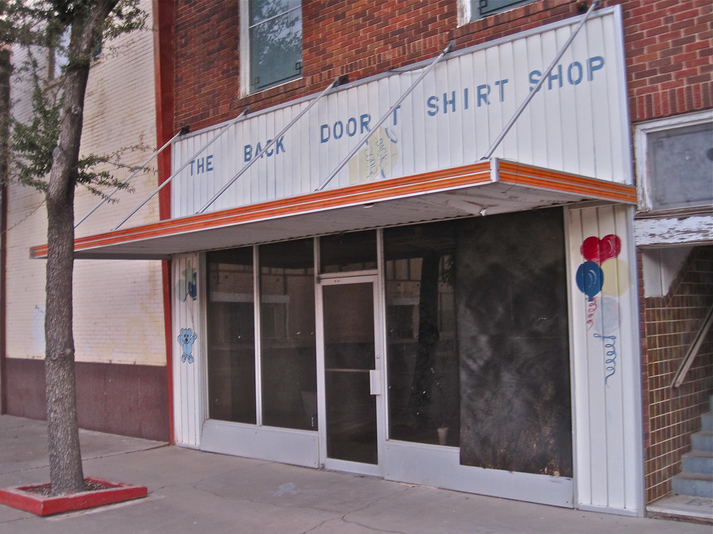Back Door T Shirt Shop, Pecos, TX