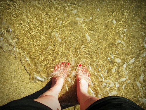 Day 333 - Indian Ocean Feet