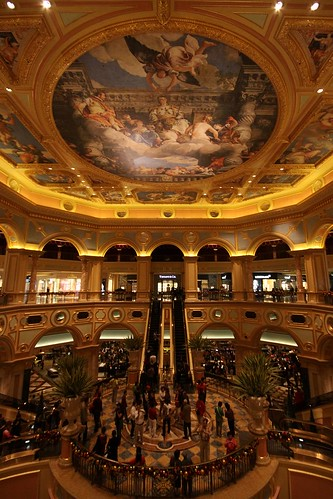 Main atrium of The Venetian Macao
