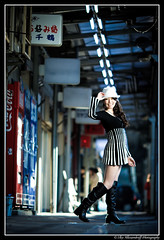 Asuka @ Sannomiya / 三宮 (Ilko Allexandroff / イルコ・光の魔術師) Tags: park street light portrait people woman white black slr art girl beautiful fashion japan umbrella canon shopping dark hair asian photography google interesting glamour women natural emotion bokeh good feminine awesome flash explore more most kobe portraiture 大阪 mostinteresting ambient topv osaka dslr asuka hdr 公園 関西 人 ポートレート 写真 obp nakagawa naniwa ilko asianbeauty 50d キャノン kitashinchi なにわ strobist canonef135mmf20lusm canon50d 北新地 関西学院 関西学院大学 beautyshoots mygearandme mygearandmepremium allexandroff イルコ グラマー imghp 中川飛鳥