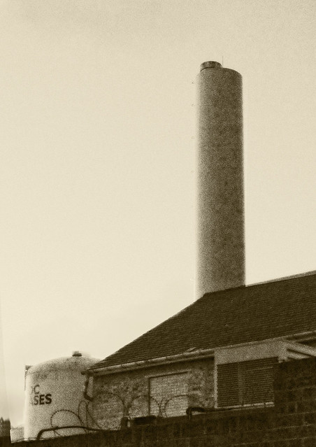 Brewery chimney