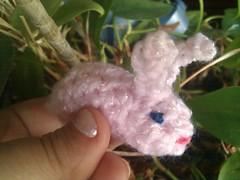 Teensy Amigurumi Bunny