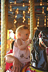 Olivia on the Carousel