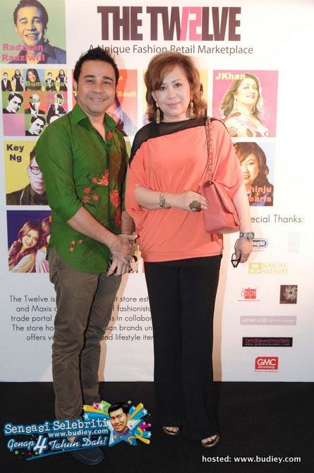 Dato' Radzuan Radziwill & Puan Sri Raja Noora