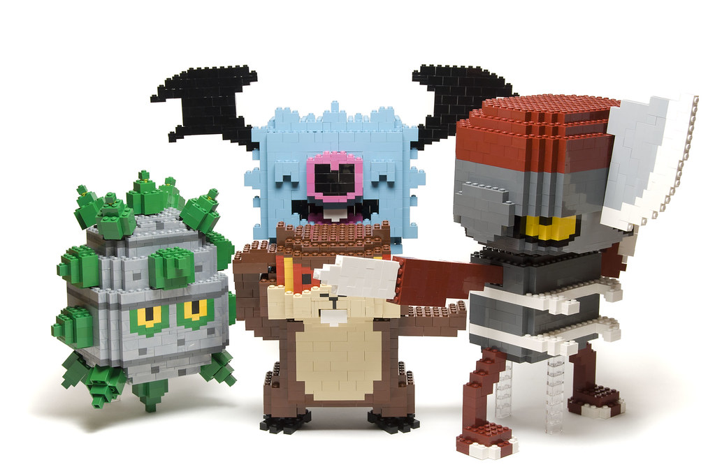 Pokémon in LEGO SE02: 4th Batch