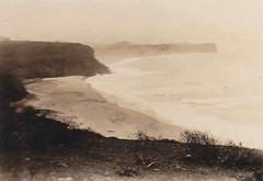 Warriewood Beach looking towards Mona Vale Beach and Headland  - 1926 (john cowper) Tags: sydney nsw nswaustralia monavalebeach monavaleheadland warriewoodbeach