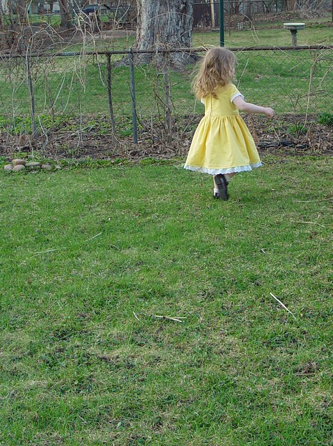 Buttercup dress, view 1