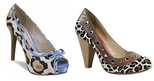 sapatos cravo e canela