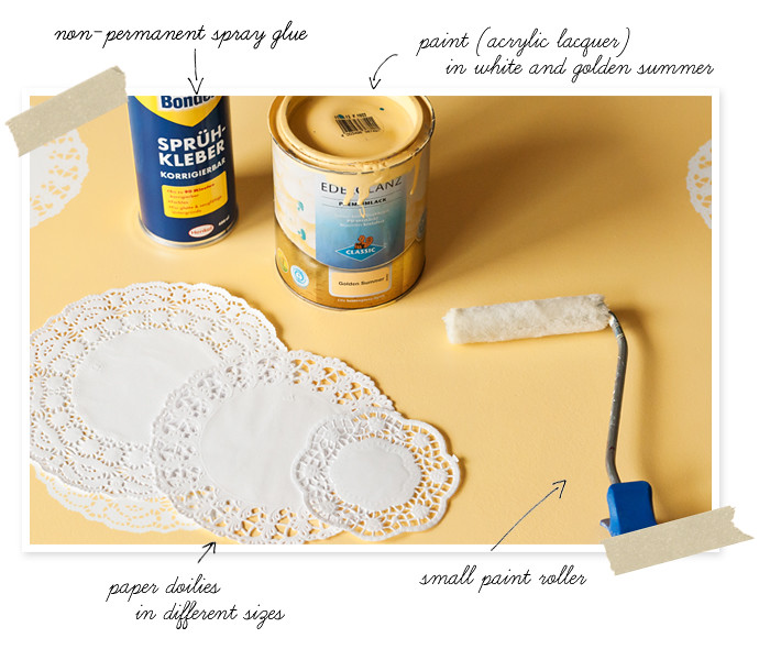 DIY - Paper Doily Table