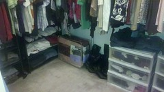AFTER: Closet Floor