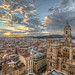 View of the city of Malaga – Vista de la ciudad de Málaga (Spain), HDR by marcp_dmoz