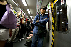 On The MTR (fuzzylogixx) Tags: china old man standing canon hongkong asia tokina 7d mtr canoneos7d tokinaaf1116mmf28 1116mmf28
