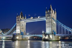 London, England - Tower Bridge (GlobeTrotter 2000) Tags: uk bridge blue wedding cambridge england london tower thames wales night river jack europe cityscape married symbol kate united union royal duke kingdom prince william just catherine hour april tribute 29 congratulations iconic duchess middleton