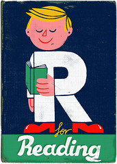 R for Reading (Paul Thurlby) Tags: vintage typography reading retro type alphabet lettering literacy paulthurlby
