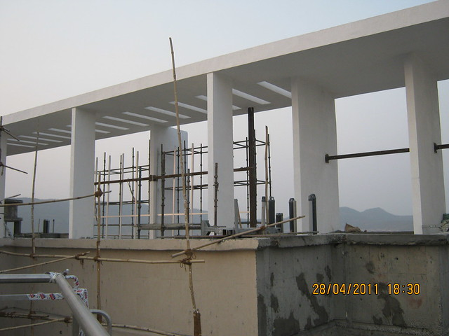 Pergola on the B Tower in  Sangria at Megapolis, Hinjewadi Phase 3, Pune