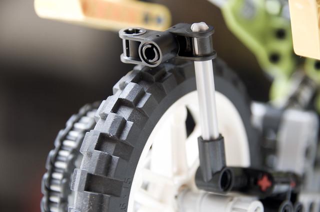 TT1000G (Lego): guardabarros off-road