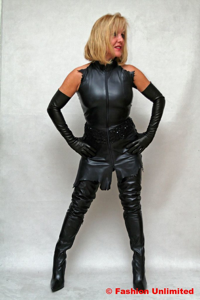 For support mature ladies in leather gloves agree