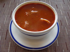 Sunday Morning Menudo (knightbefore_99) Tags: morning red food art mexico soup hotel sunday mexican oaxaca tripe menudo huatulco lasbrisas