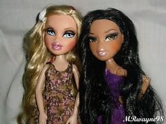 Bff's new bratz I got! (MRwayne98) Tags: park party sun drew smith jade forever wei bratz rowena cloe bestfriendz diamondz