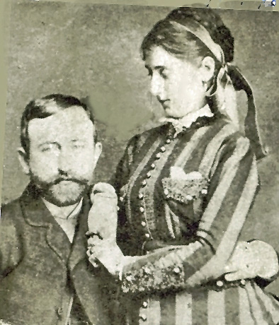 Paula with her husband