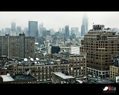 A view from the West... (Javier Bragado) Tags: city urban cloud newyork film water rain canon dark manhattan cab taxi soho broadway ciudad drop urbano nuevayork canon5dmarkii javierbragado