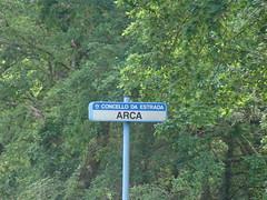 sinal en Arca (A Estrada)