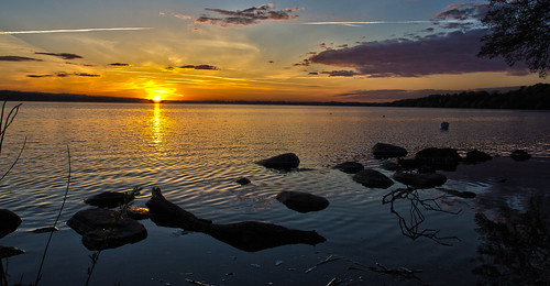 Sunset at Furesøen, II