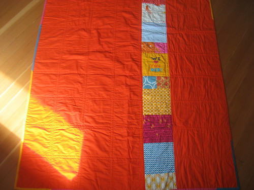 the happiest quilt back