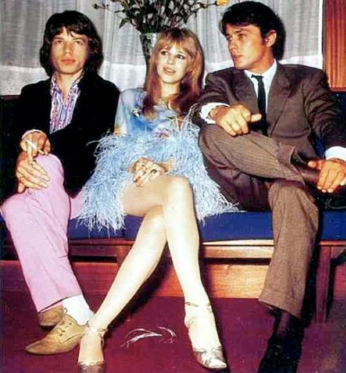 Mick, Marianne & Alain