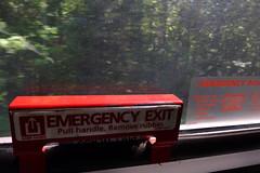 pull handle remove rubber (skippy haha) Tags: train neworleans alabama crescent amtrak tuscaloosa damage jazzfest tornado skippyhaha