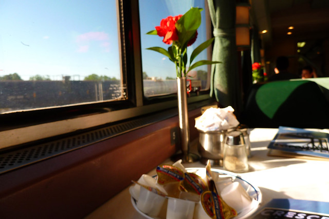 dining car carnation