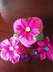 Iron craft flowers