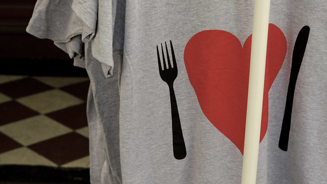 Fork Heart Knife