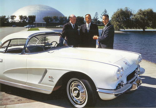 Astronaut Alan Shepard recieves 1962 Corvette