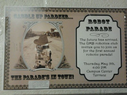 Robot parade at UMB by paskorn