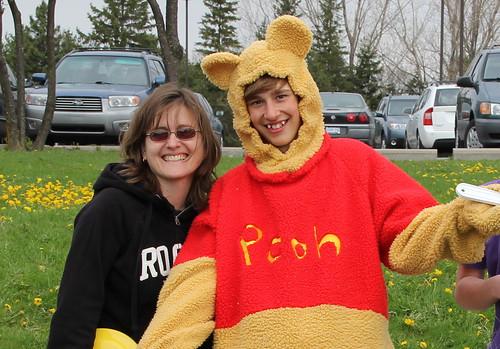 Paula meets Pooh
