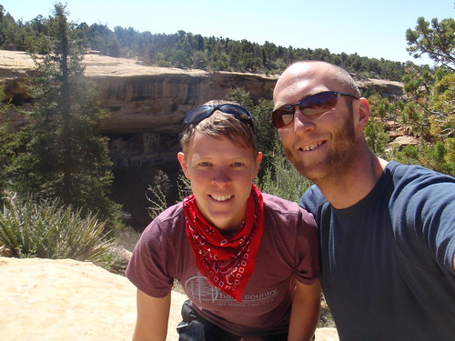 Us at Cliff Dwellings