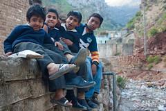 their future (soulbruva) Tags: pakistan portrait white black girl smile children village poor islamabad saidpur