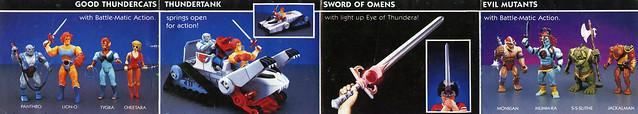 Catalog thundercats toys LJN